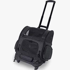 Gen7Pets Roller-Carrier Pet Backpack Carryon